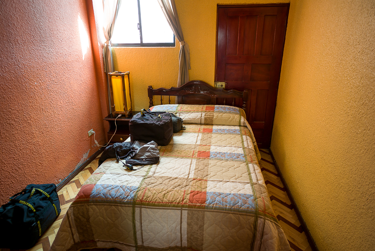 Luxury suite in Riobamba