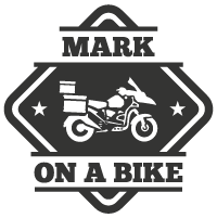 Mark On A Bike